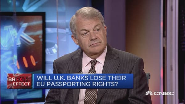 Jobs will be lost if we get a poor Brexit deal: City of London Corp