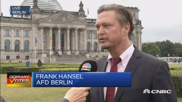 It is doomsday for Merkel: AfD's Hansel