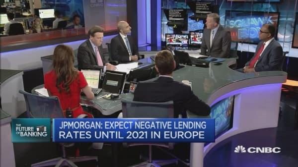EU banks between a rock and a hard place: JP Morgan