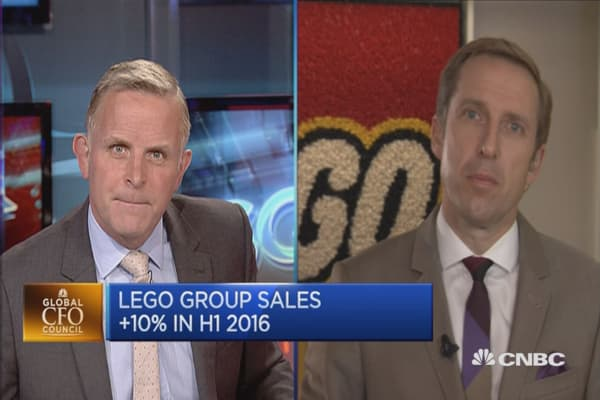 Sales growth strong in Europe and Asia: LEGO