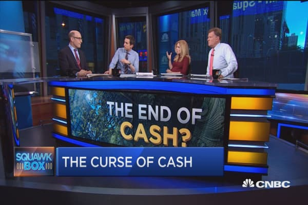 Time to phase out cash?