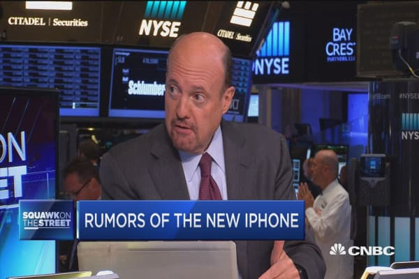 Cramer: Rumors of the new iPhone