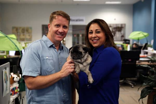 Kevin and Angie O'Brien founded PetRelocation in 2003 out of their home