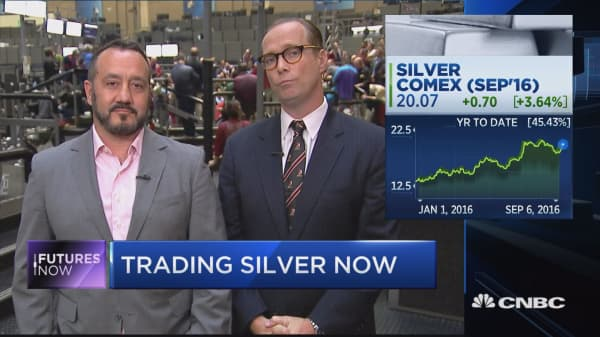 Why one trader's buying silver, not gold