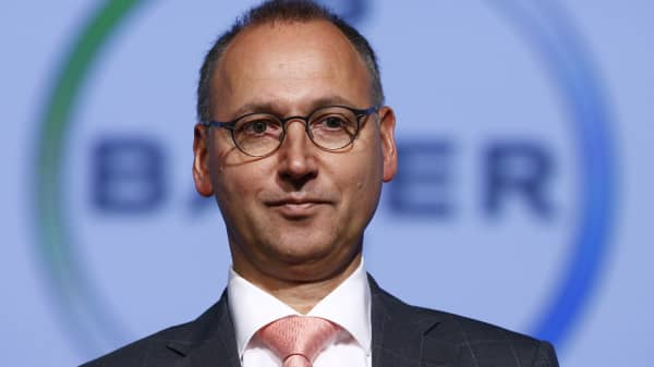 Werner Baumann, CEO of Bayer