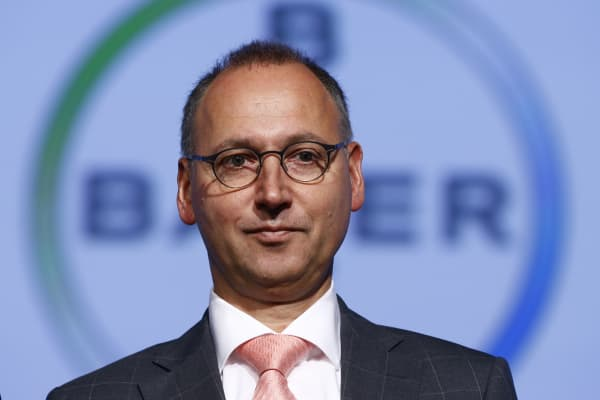 Werner Baumann, CEO of Bayer