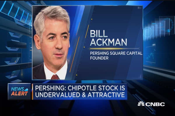 Pershing: Chipotle stock is undervalued & attractive