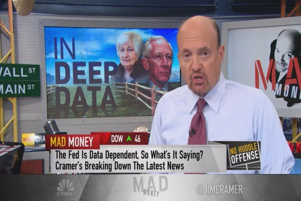 Cramer: Federal Reserve looking 'dumb and dumber' — prepare for the worst