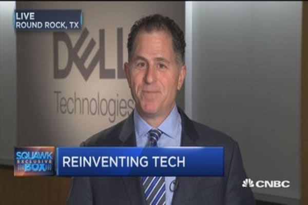 This is a 'change or die' business: Michael Dell