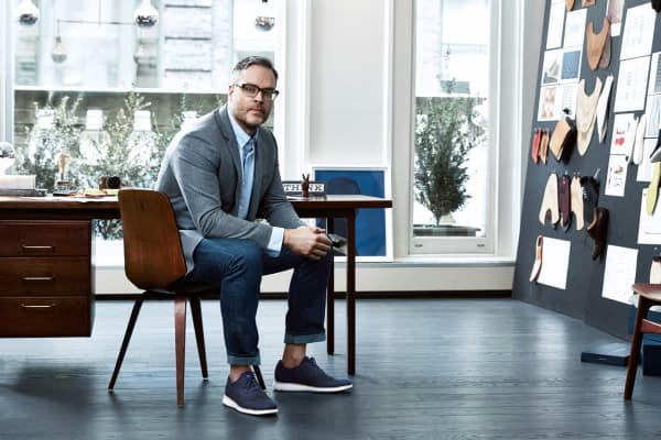 Scott Patt, Cole Haan's vice president of innovation and design.