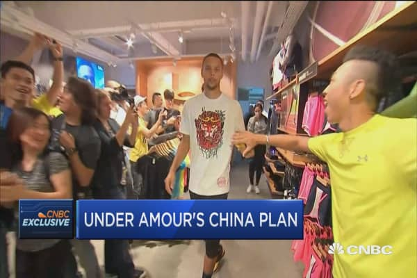 Cramer: Under Armour and Steph Curry