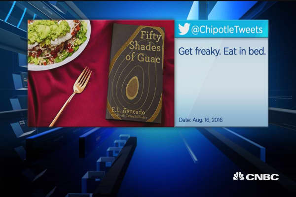 Chipotle Mexican Grill's extra saucy tweets