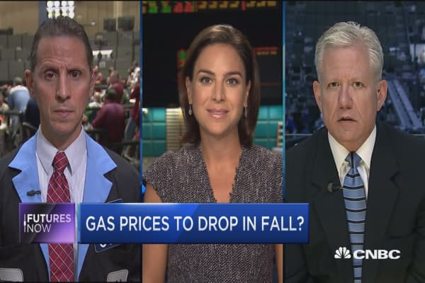 Gas prices to drop in fall?