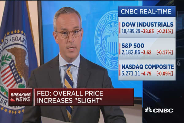 Fed: Moderate growth seen in coming months