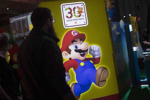 Super Mario Brothers, Nintendo