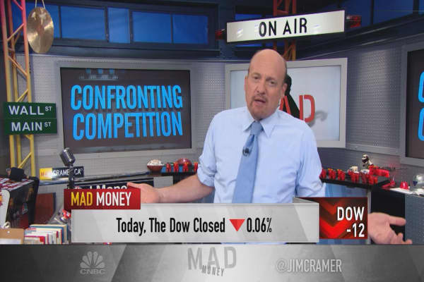 Cramer: Real reason stocks haven't been beaten to a pulp with less competition