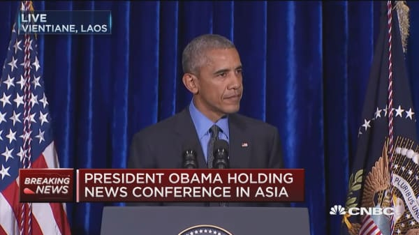 Obama: My ASEAN reception has been terrific
