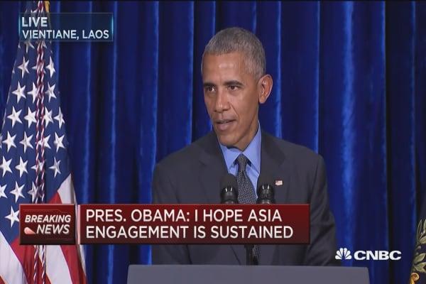Pres. Obama address North Korea's nuclear threat