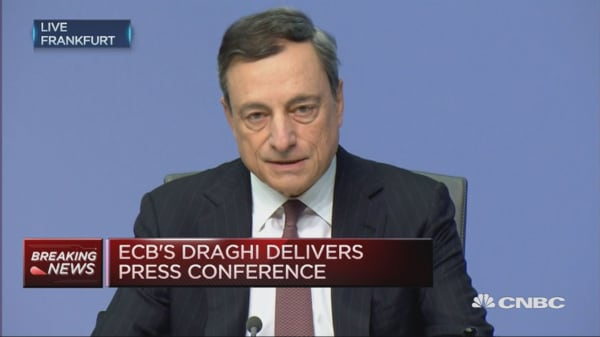 Rates to remain at present level for some time: Draghi