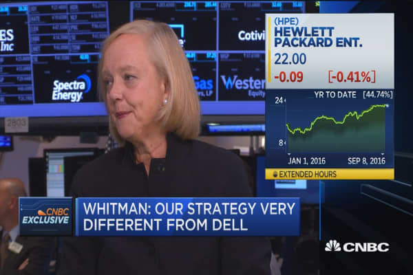 Whitman: Our strategy is a winning one