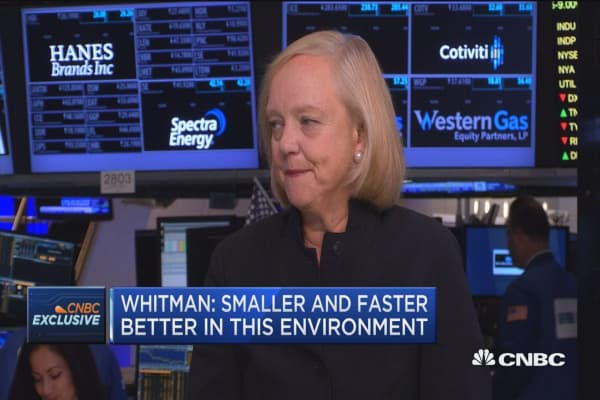 Whitman: We'll make deals in a very focused way