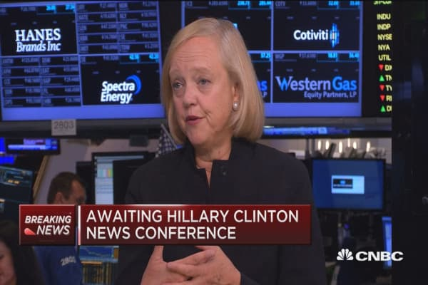 Republican Meg Whitman on why she supports Clinton