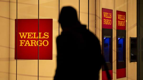 A Wells Fargo bank branch in Washington, D.C.
