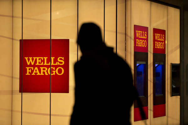 A Wells Fargo bank branch in Washington, D.C.