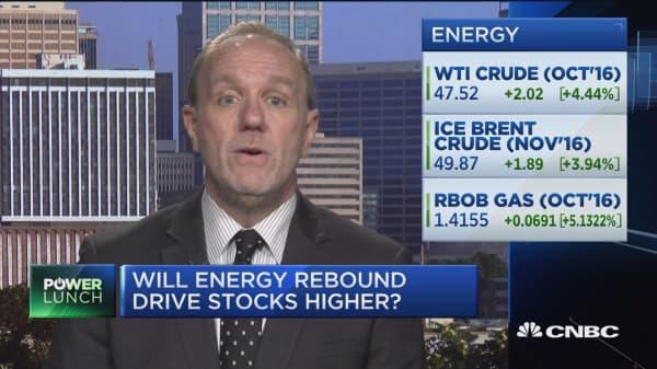 Will energy rebound drive stocks higher?