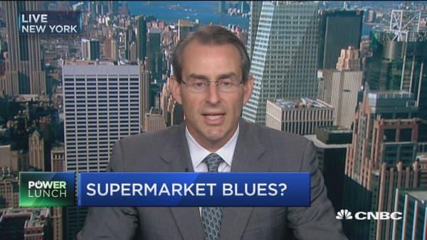 Grocer under pressure as food prices slide