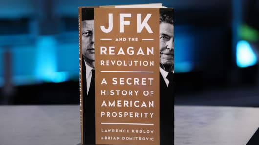 """JFK and the Reagan Revolution"" by Lawrence Kudlow and Brian Domitrovic"