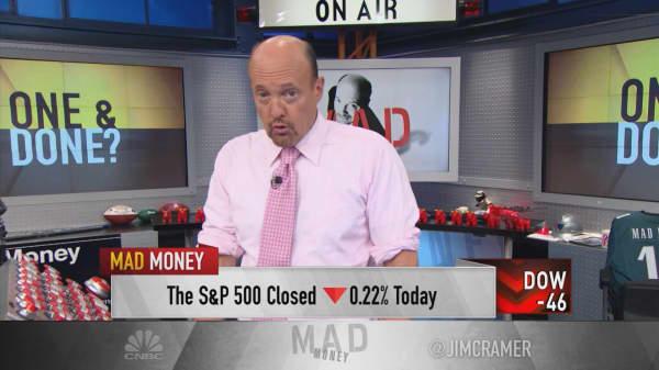 Cramer: Drop in oil inventories signals a treacherous market