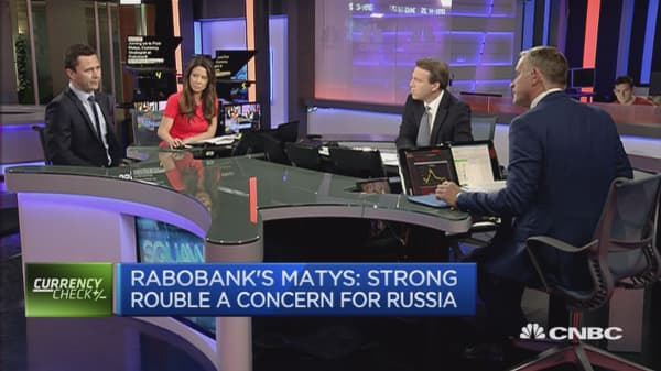Strong ruble is a concern for Russia: Strategist