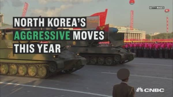North Korea's aggressive moves this year