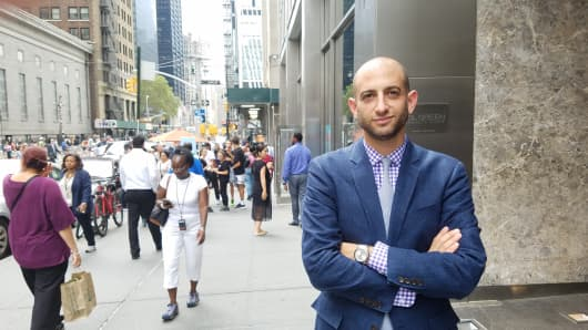 Against all odds: Todd Spodek survived 9/11 and grew his law firm despite all the challenges.