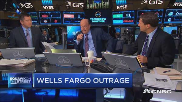 Cramer on Wells Fargo settlement