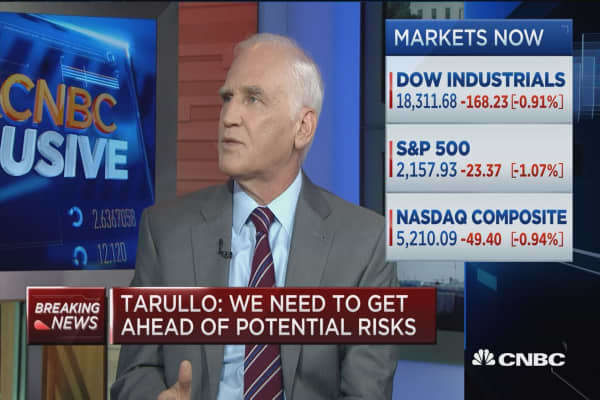 Tarullo: We need to be forward looking on rates