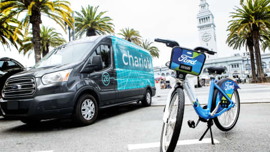 Chariot & Ford GoBike