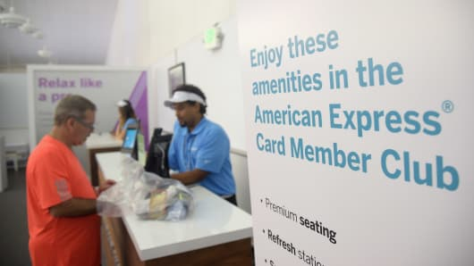 A view of the American Express Fan Experience at the 2016 U.S. Open at USTA Billie Jean King National Tennis Center on August 31, 2016, in New York City