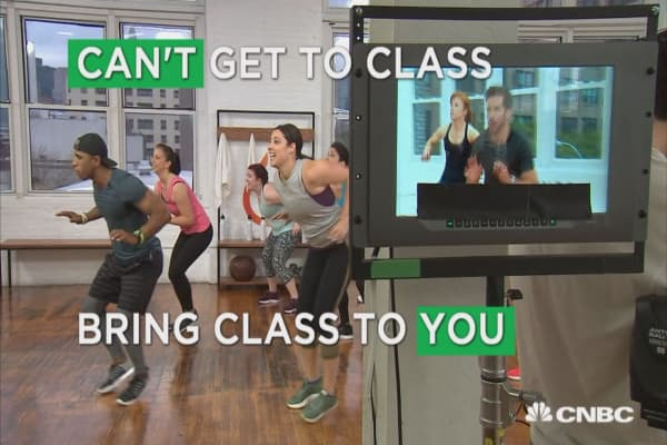 No more excuses: Workout classes now stream live to your living room