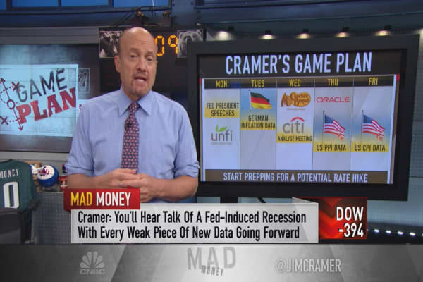 Cramer game plan: The market is a minefield. Here's where next week's mines are