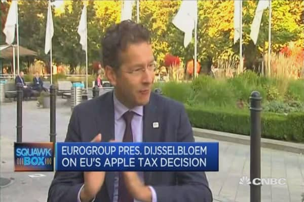 Companies need to pay fair share of tax: Dijsselbloem