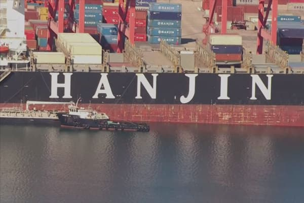 Hanjin's crisis could hurt more shipping lines