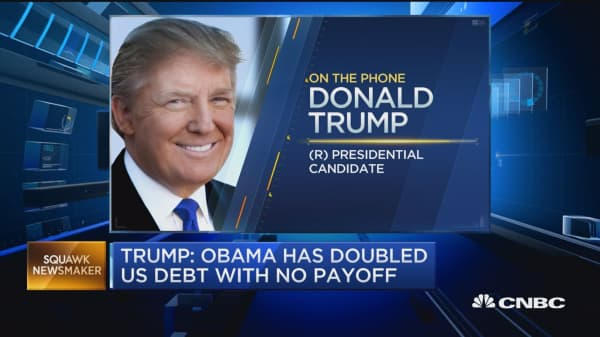 Debate should not have moderator: Trump