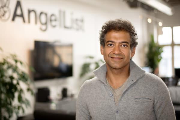 Naval Ravikant, founder of AngelList