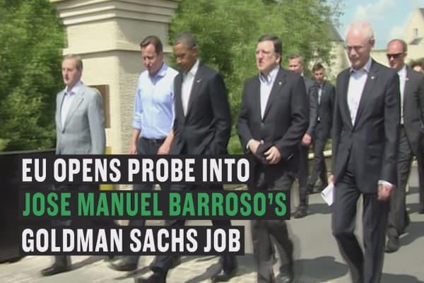 EU opens ethics probe into Barroso