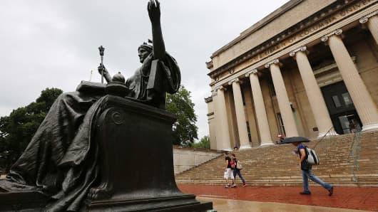 Columbia University campus, New York