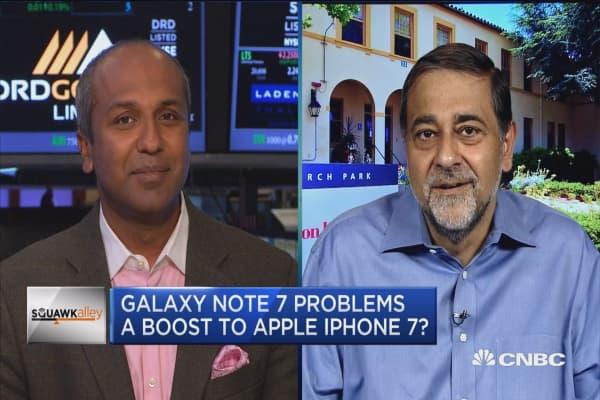 Note 7 recall threatening Samsung's market share?