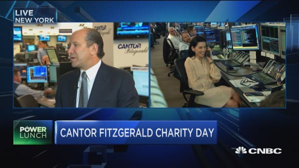Cantor Fitzgerald CEO: US economy 'perfectly reasonably OK'
