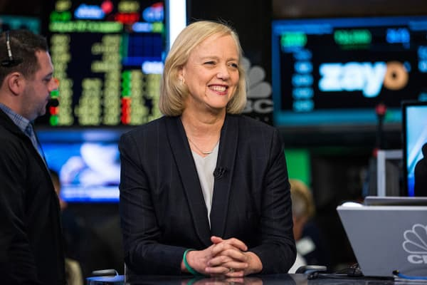 Meg Whitman, CEO of Hewlett Packard